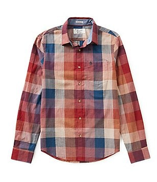Original Penguin Long-Sleeve Check Woven Shirt