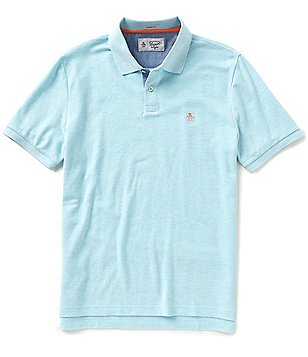 Original Penguin Daddy-O Short-Sleeve Solid Polo Shirt