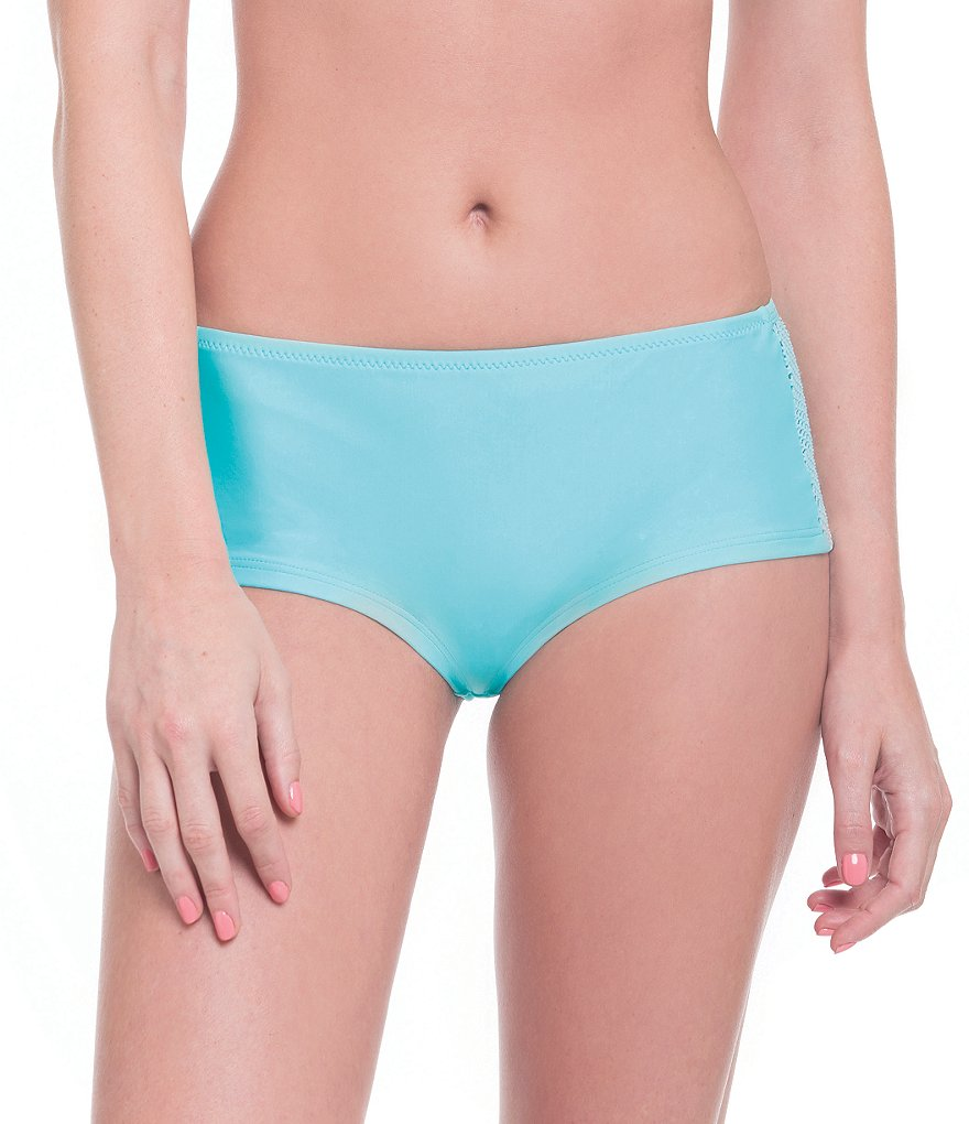 Profile Blush by Gottex Caught In The Net High Waist Bottoms