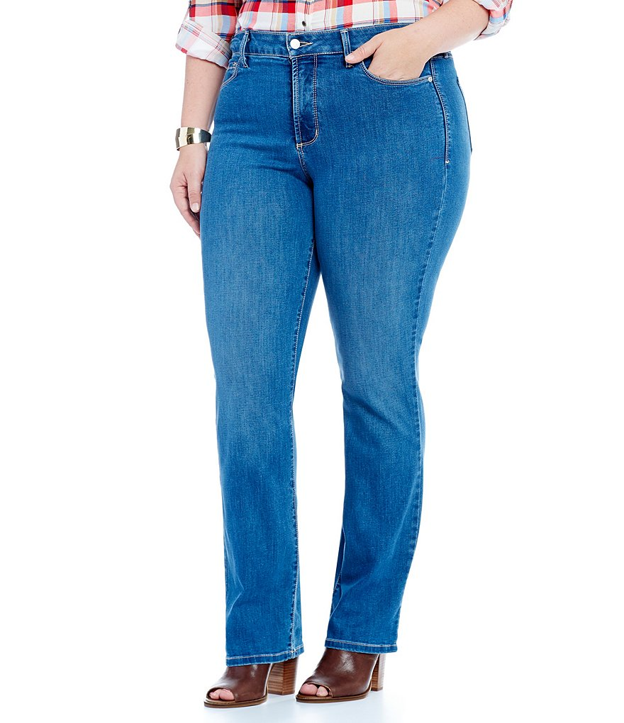 NYDJ Plus Marilyn Cool Embrace Jean