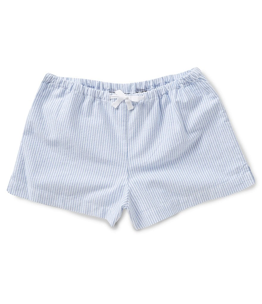 Ralph Lauren Childrenswear 7-16 Striped Oxford Shorts