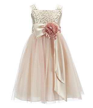 Chantilly Place Big Girls 7-16 Brocade Ballerina Dress