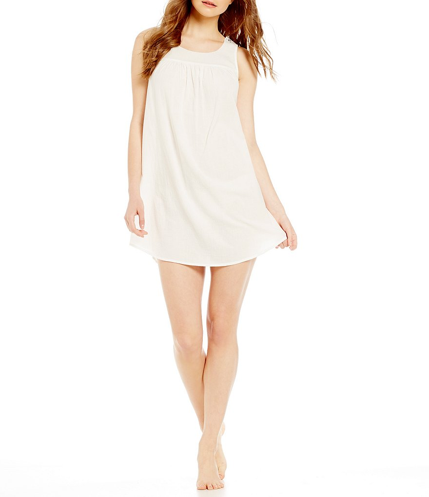 Jasmine and Ginger Solid Gauze Chemise