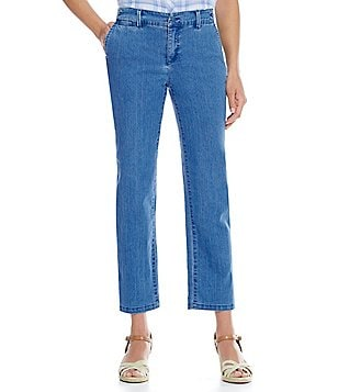 Intro Denise Denim Boyfriend Ankle Length Pant