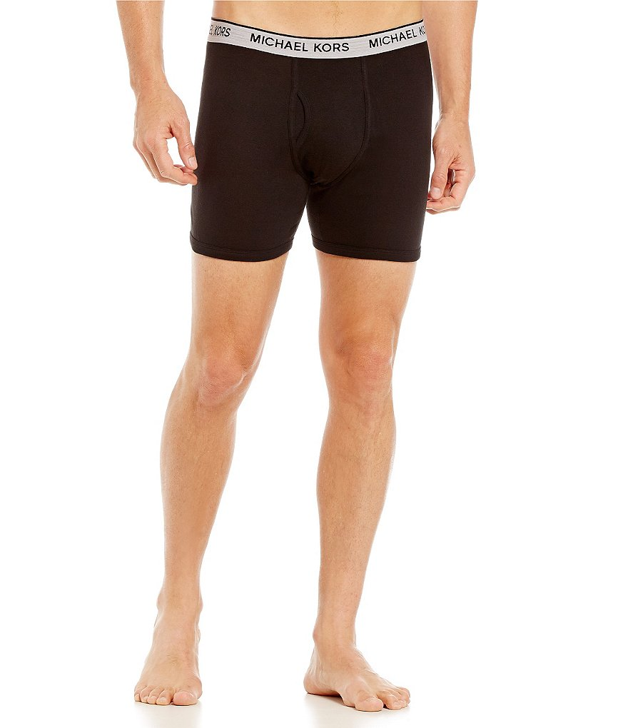 Michael Kors Cotton Modal Boxer Briefs 3-Pack