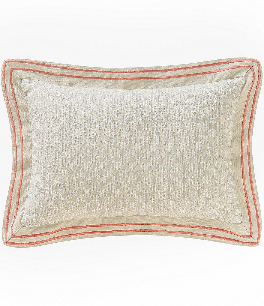 Waterford Cathryn Geometric Boudoir Pillow