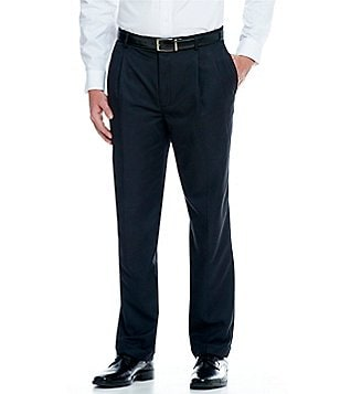 Daniel Cremieux Signature Classic-Fit Pleat Front Microfiber Pants