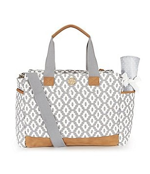 Mud Pie Bigger Bundle Canvas Diaper Bag