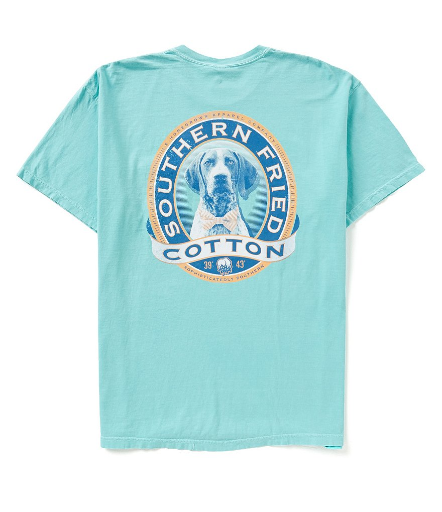 Southern Fried Cotton Mens Winston II Pocket Graphic Tee