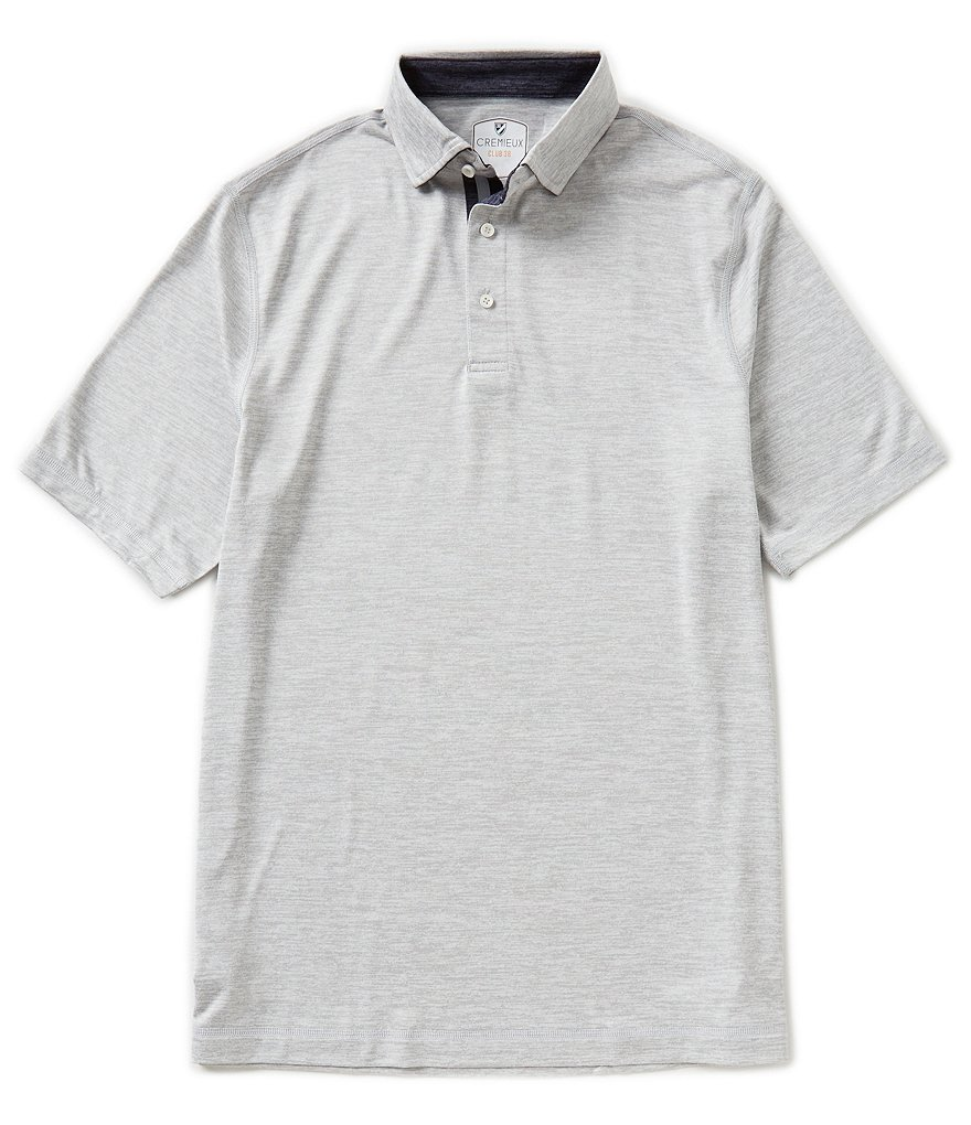 Cremieux Club 38 Short-Sleeve Active Polo Shirt