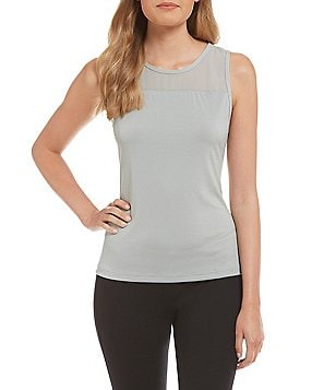 Modern Movement Mesh-Yoke Camisole