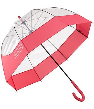 Hunter Original Moustache Transparent Bubble Umbrella