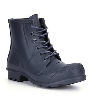 Hunter Men´s Original Rubber Lace Up Waterproof Rain Boots