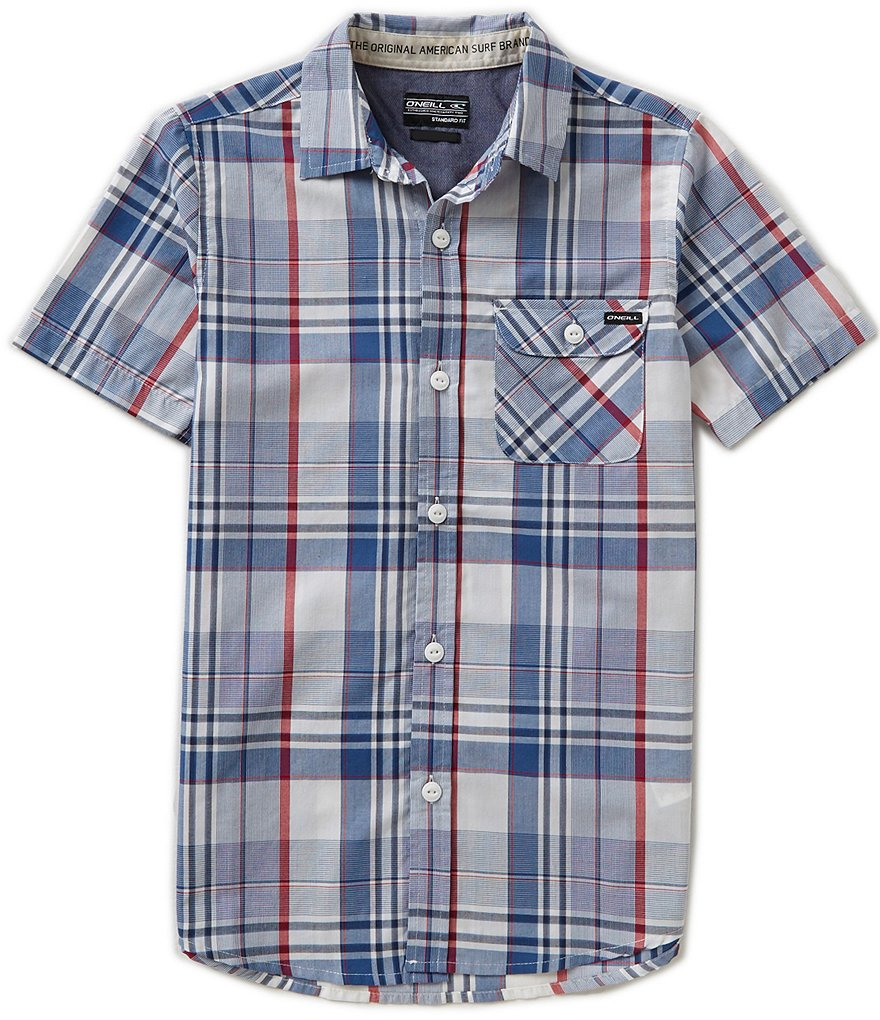 O´Neill Big Boys 8-20 Emporium Plaid Shirt