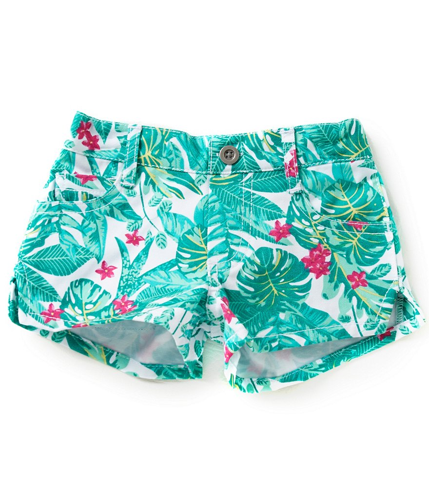 Copper Key Little Girls 2T-6X Printed Shorts