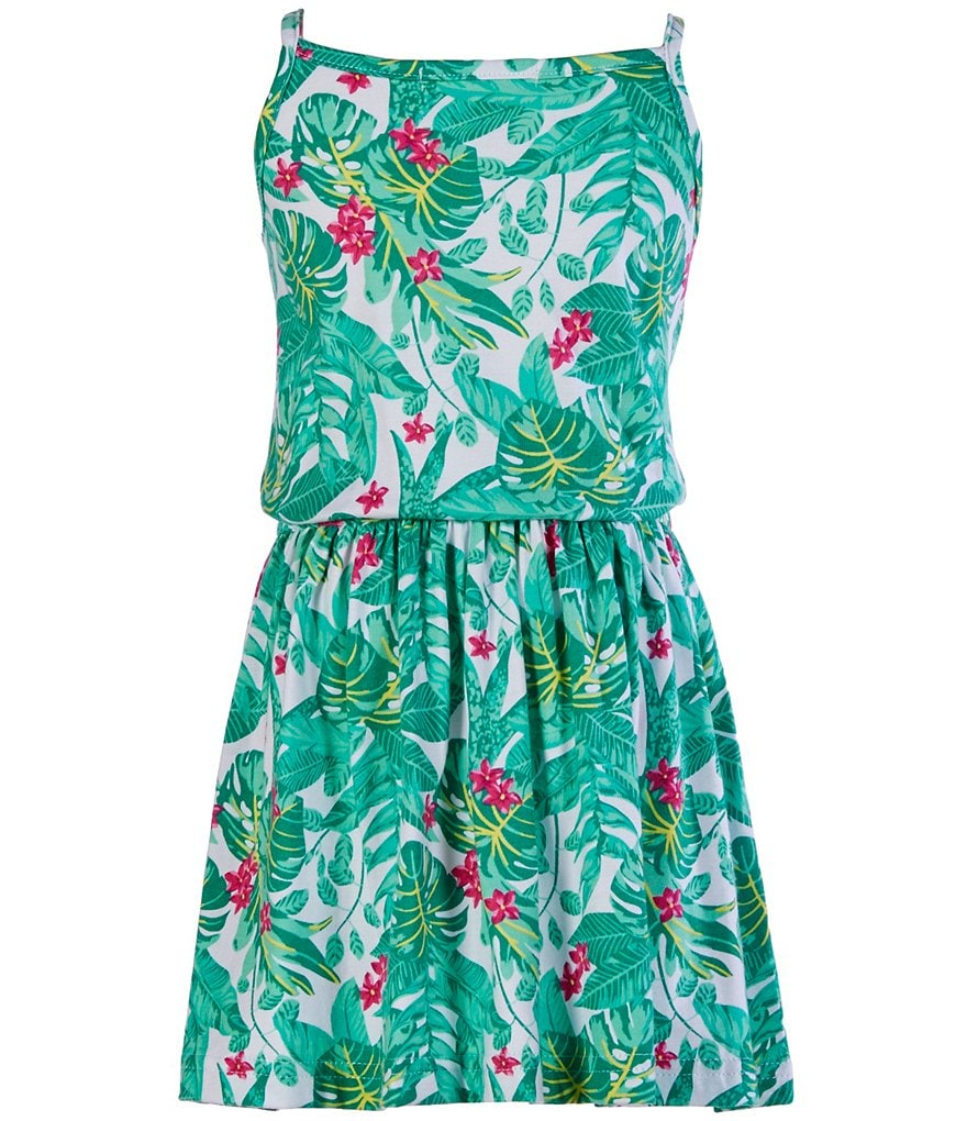 Copper Key Little Girls 4-6X Tropical-Print Dress