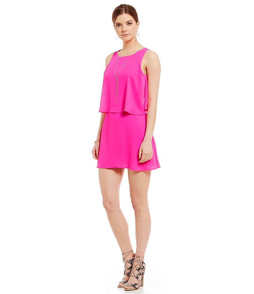 Sugarlips Popover Cutout Dress