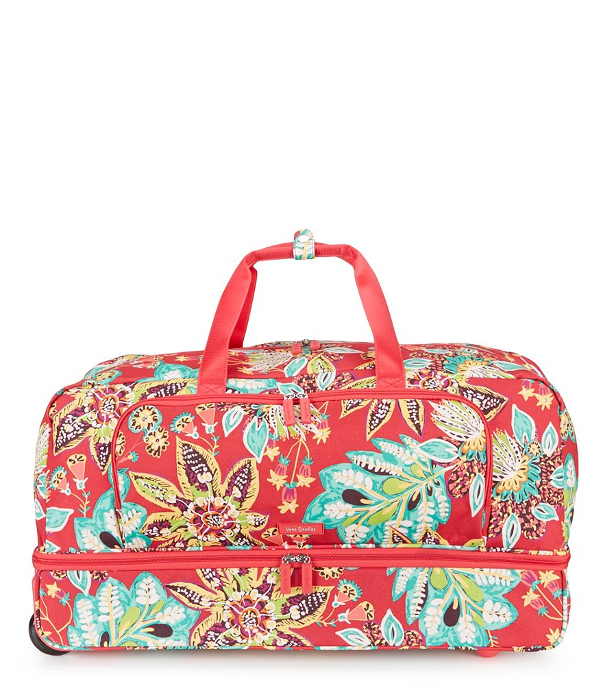 Vera Bradley Lighten Up Large Wheeled Duffel