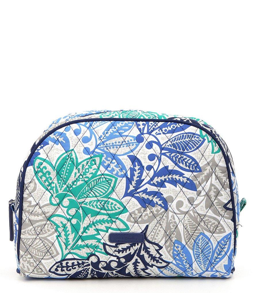 vera bradley large zip cosmetic bag dillards