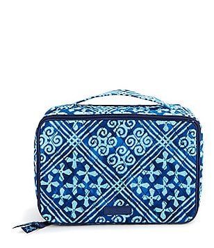 Vera Bradley Large Blush & Brush Cosmetic Case