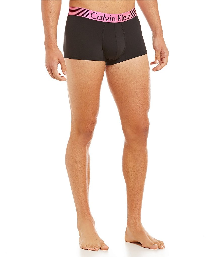 Calvin Klein Iron Strength-Charged Iron Limited-Edition Low-Rise Trunks