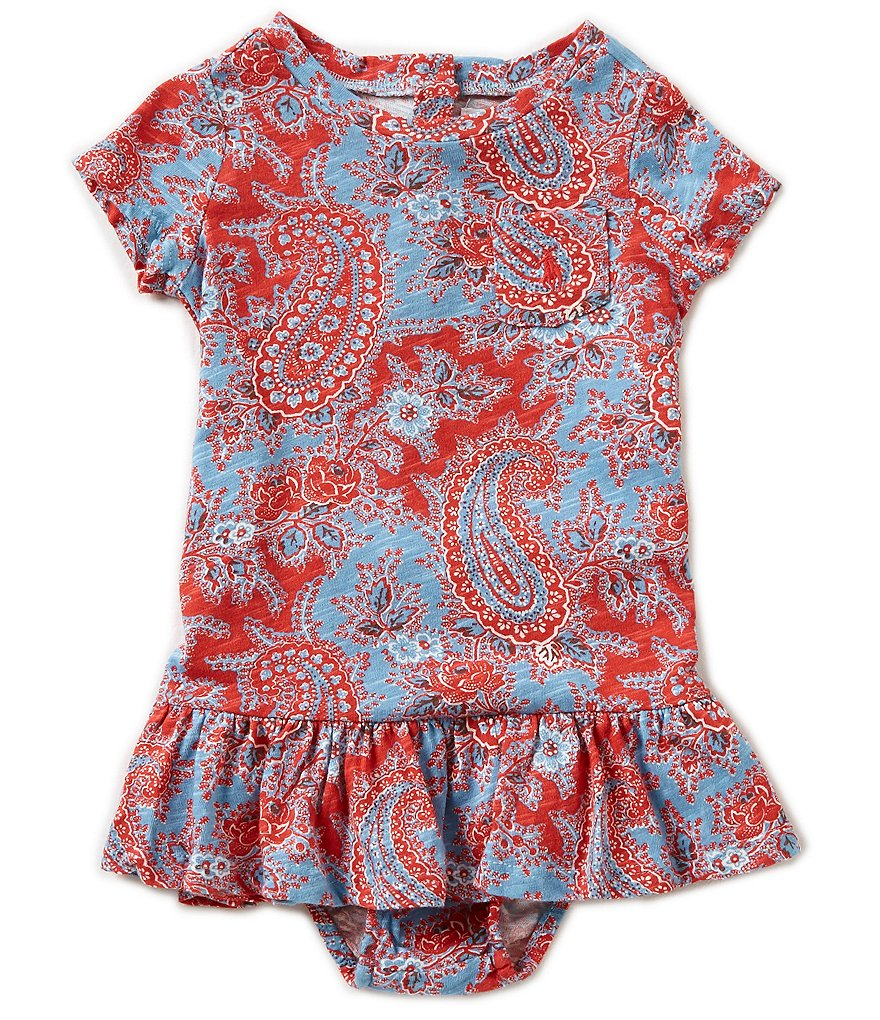 Ralph Lauren Childrenswear Baby Girls 3-24 Months Paisley Dress