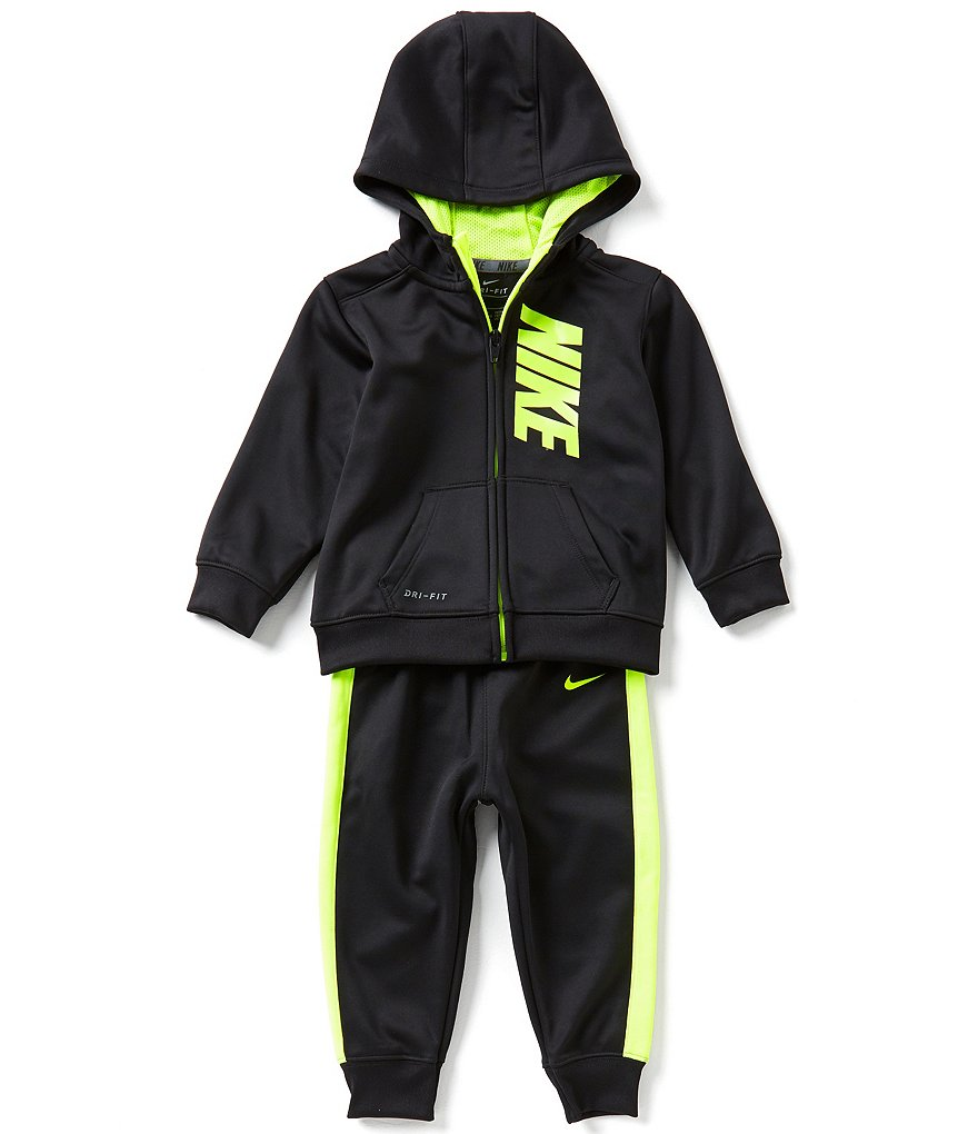 Nike Baby Boys 12-24 Months Therma-FIT Fleece Hoodie Jacket & Pant Set