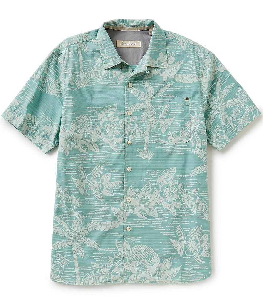 Tommy Bahama Short-Sleeve Tommy Tides Printed Woven Shirt