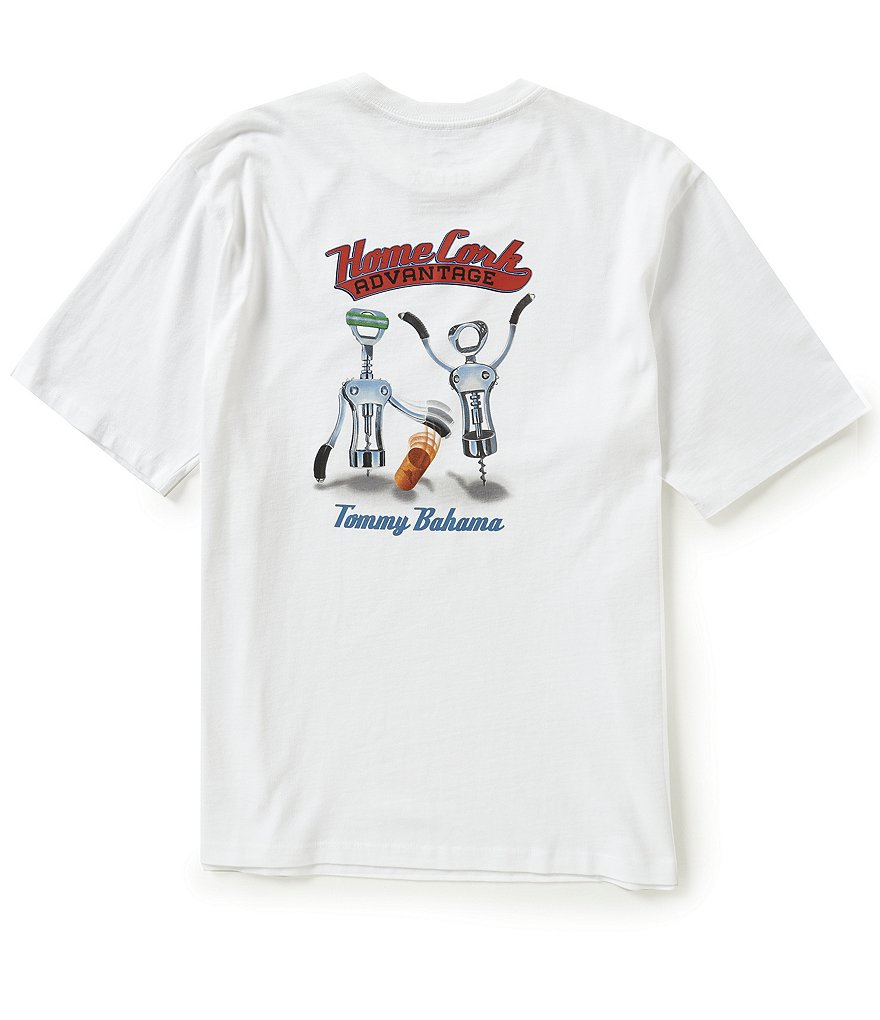 Tommy Bahama Short-Sleeve Home Cork Advantage Graphic Tee