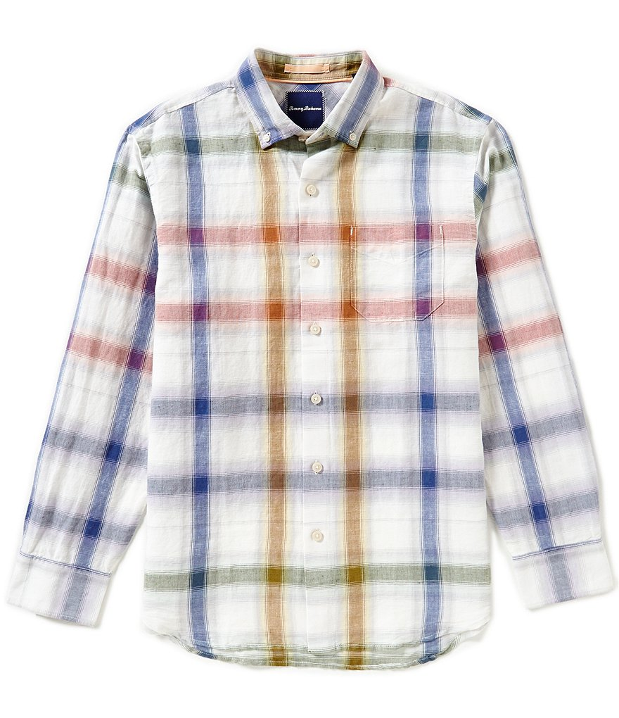 Tommy Bahama Long-Sleeve Chaveta Check Woven Shirt