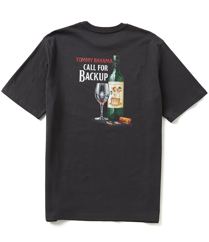 Tommy Bahama Short-Sleeve Call For Backup Graphic Tee