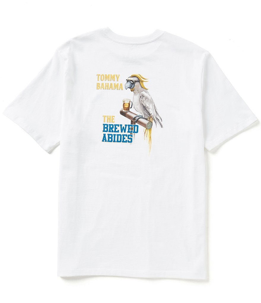 Tommy Bahama Short-Sleeve The Brewed Abides Graphic Tee