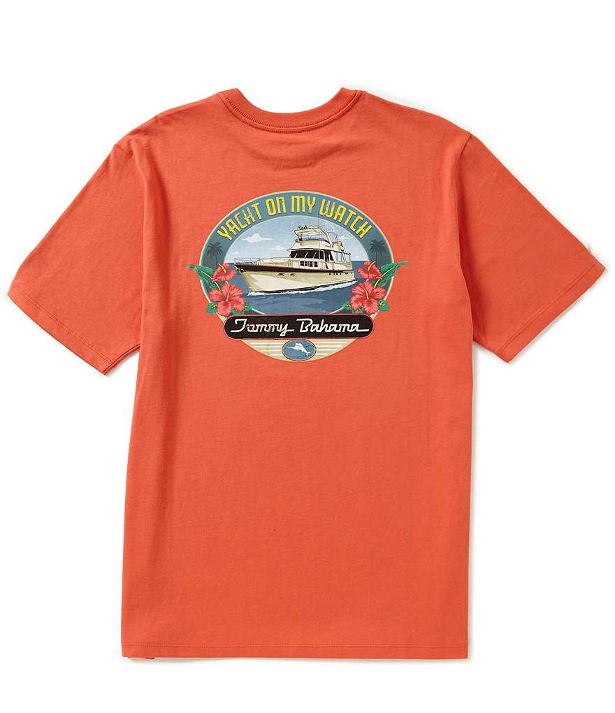 Tommy Bahama Short-Sleeve Yacht On My Watch Graphic Tee