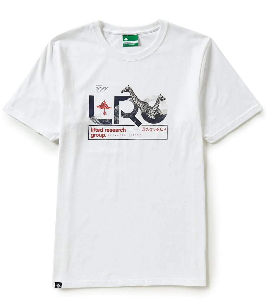 LRG Knowledge Seekers Short-Sleeve Graphic Tee
