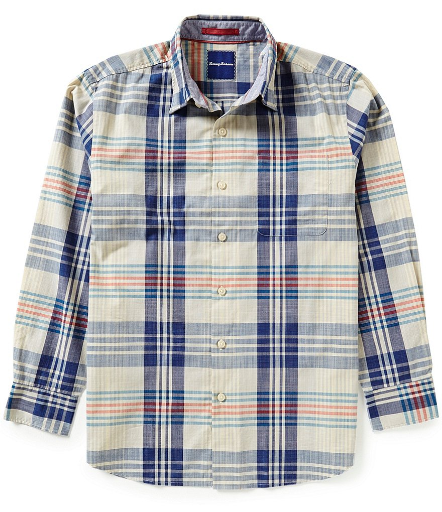 Tommy Bahama Long-Sleeve Papa Plaid Woven Shirt