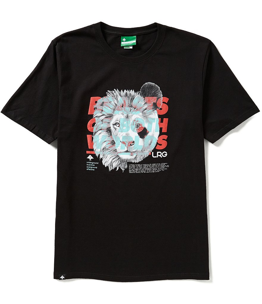 LRG Beasts of Both Worlds Short-Sleeve Graphic Tee