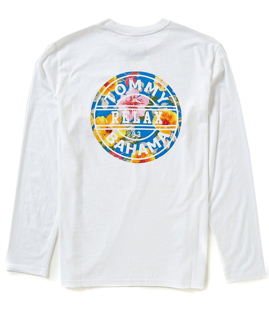 Tommy Bahama Long-Sleeve Relax 93 Graphic Tee