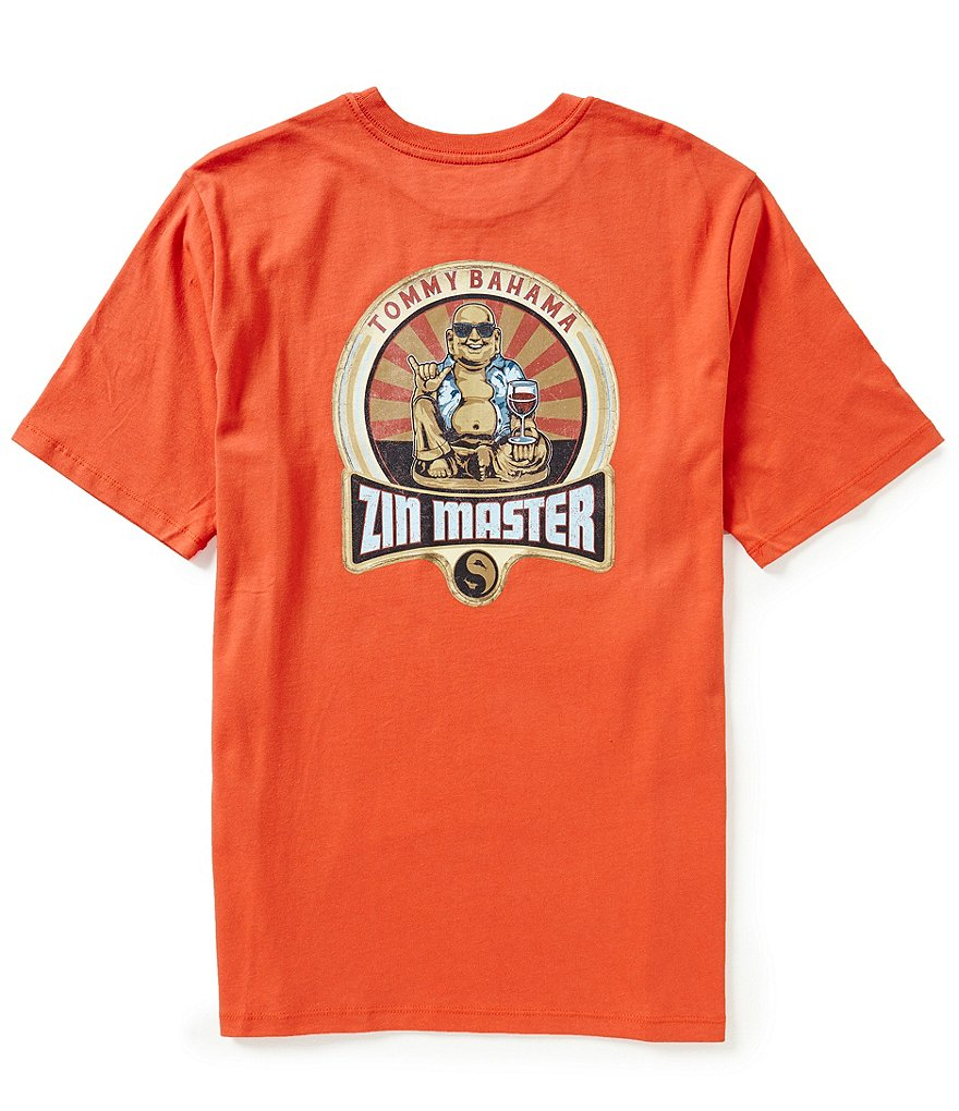 Tommy Bahama Short-Sleeve Zin Master Graphic Tee