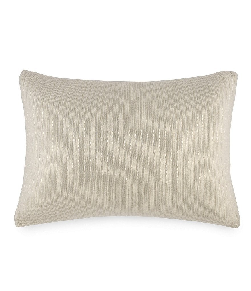 Ralph Lauren Dylan Beaded Wool & Cashmere Pillow