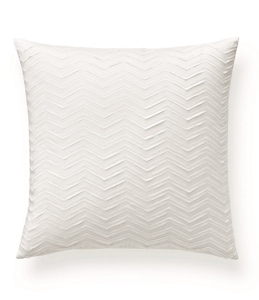 Ralph Lauren Keagan Chevron Silk Square Pillow