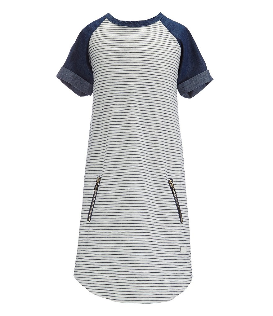 7 for All Mankind Big Girls 7-14 Reverse Jersey Dress