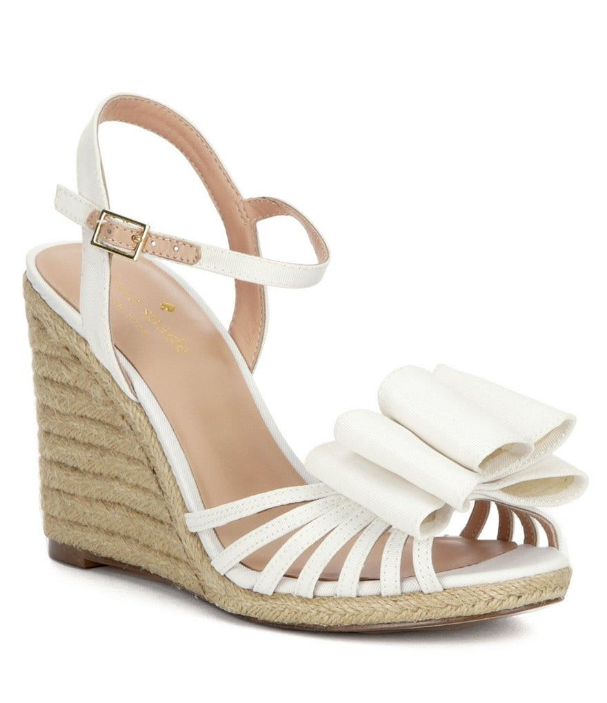 kate spade new york Biana Espadrille Wedges