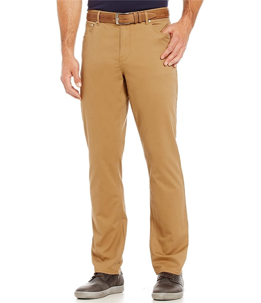 Michael Kors Tailored-Fit Chino Pants