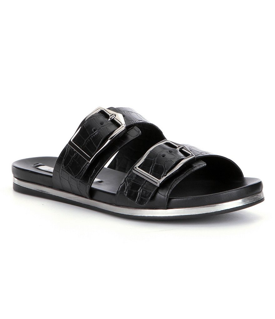 Antonio Melani Osmond Double Buckle Slides