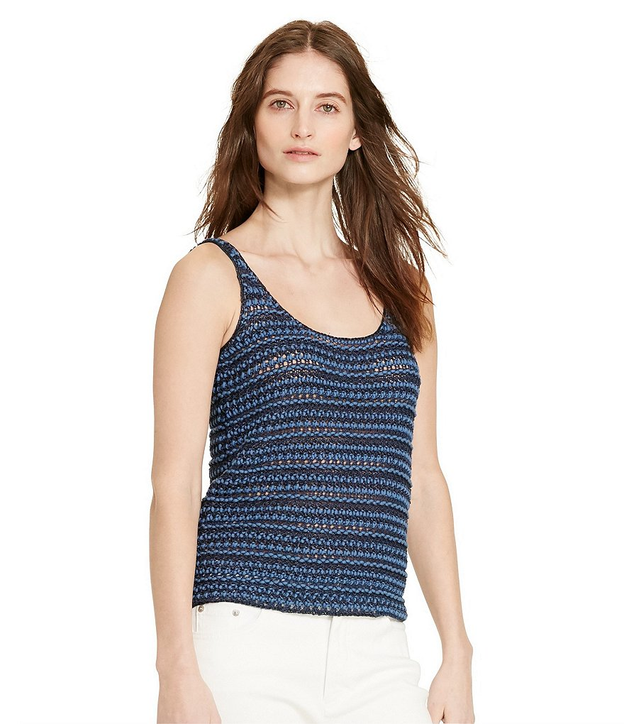 Lauren Ralph Lauren Sleeveless Sweater Tank