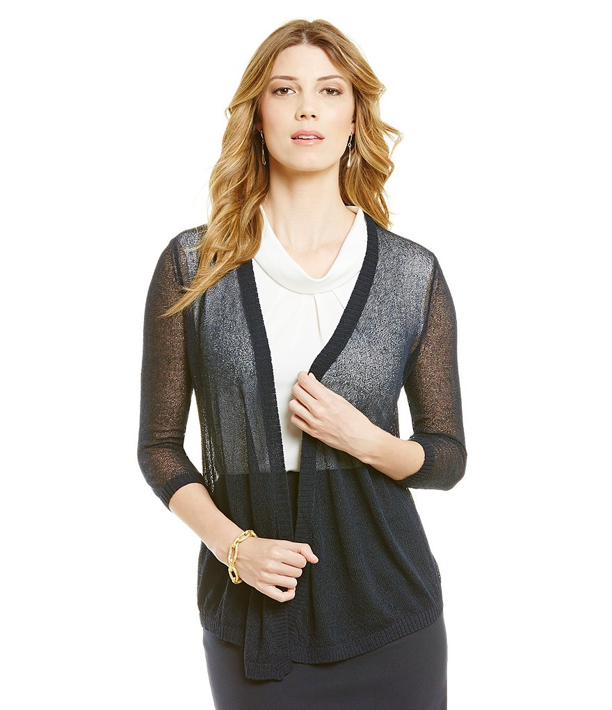 Alex Marie Charlene Draped Cardigan