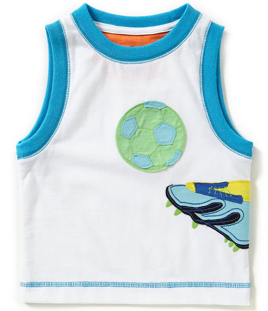 Adventure Wear by Class Club Little Boys 2T-5 Muscle Tee