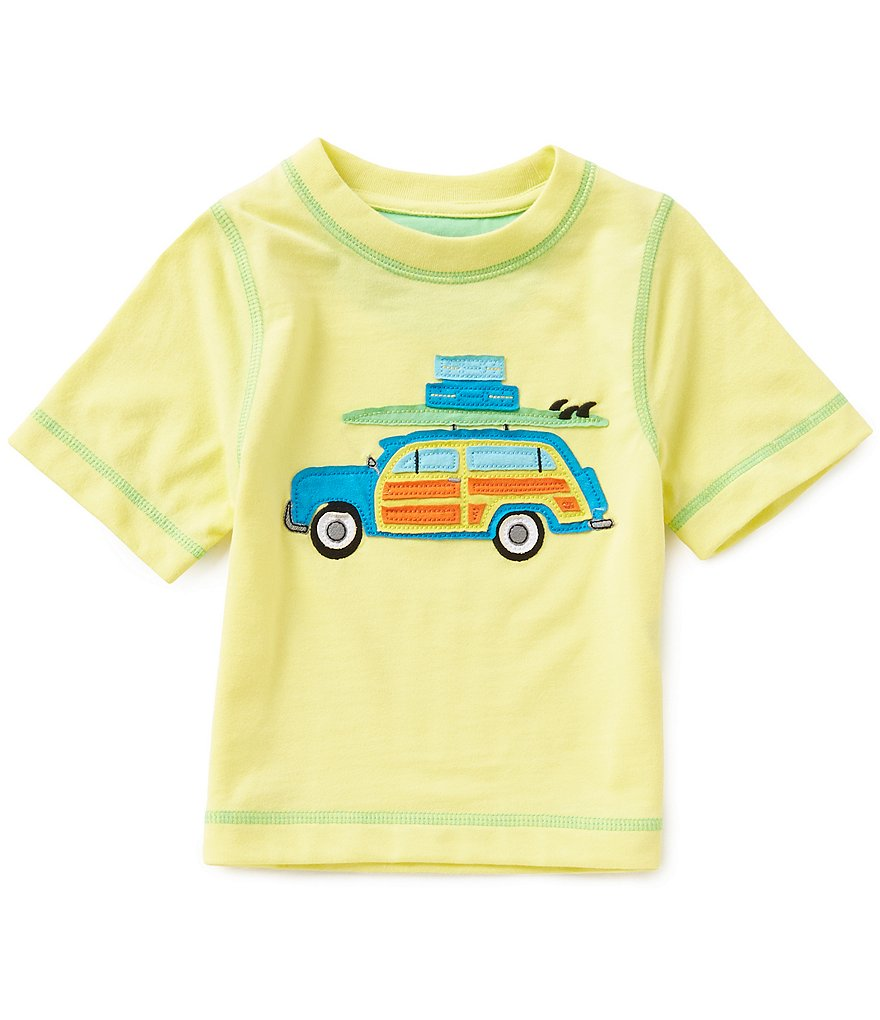 Adventure Wear By Class Club Little Boys 2T-5 Traveling Car Tee