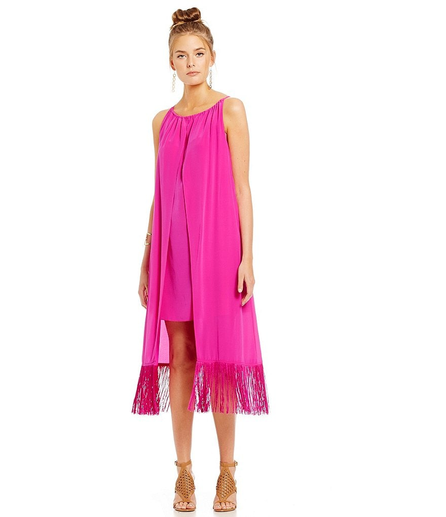Trina Turk Kearney Fringe Dress