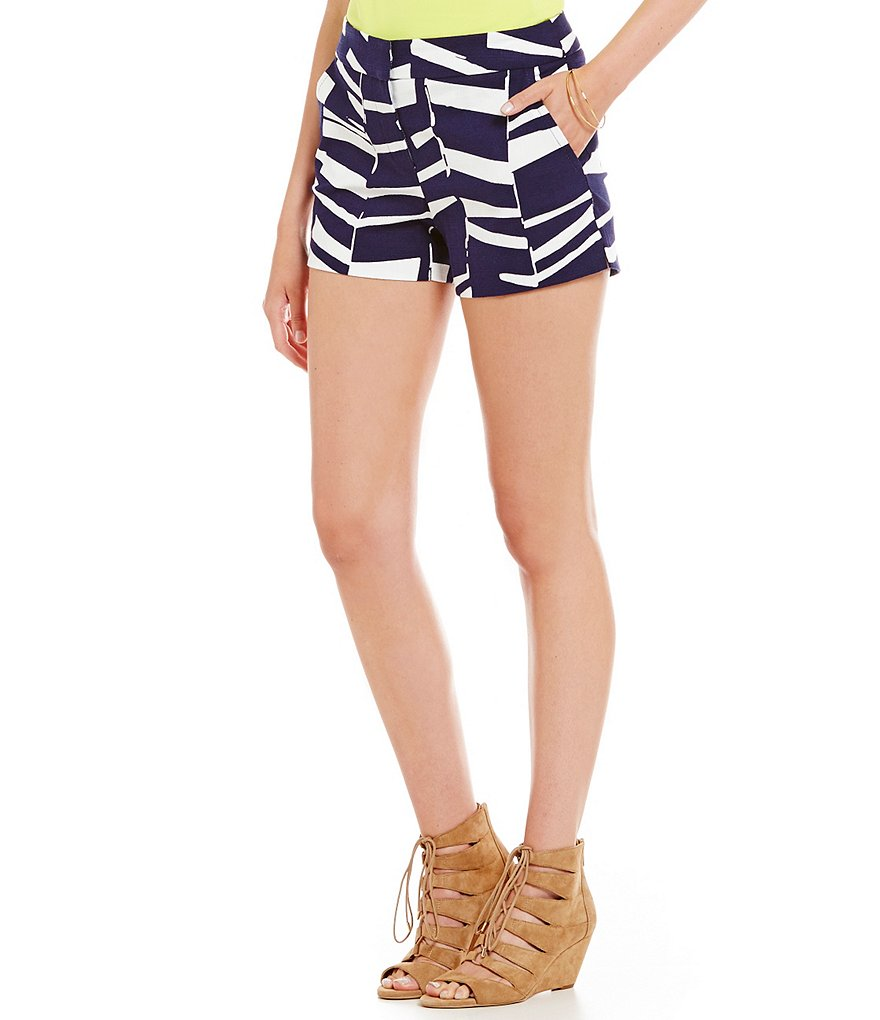 Trina Turk Corbin Abstract Print Short
